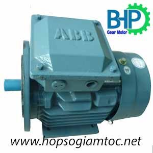 Motor ABB chân đế mặt bích