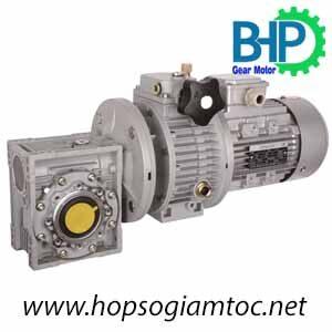 Motor giảm tốc NMRV-UDL
